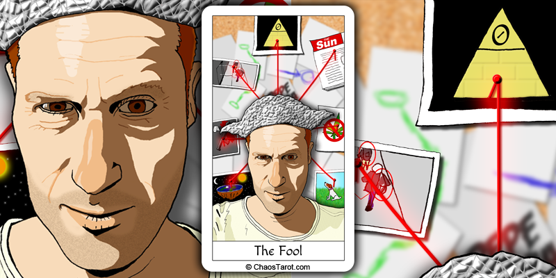 tarot card, the fool