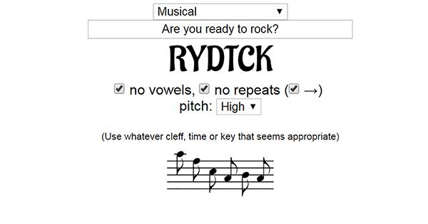 Musical Sigils
