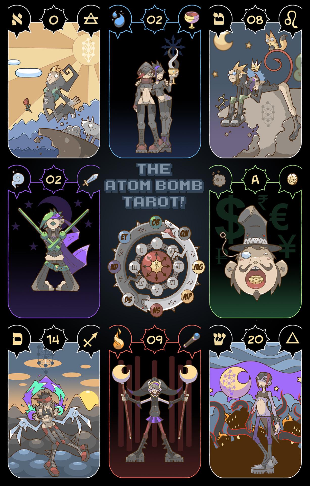 Chaos Tarot - Tools for Chaos Magick